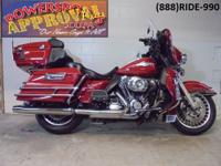 2012 Harley Davidson Electra Glide Ultra Classic, Fire