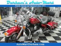 Well maintained local Harley Davidson Road King! Rare