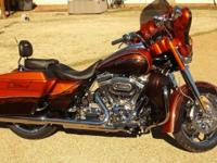 Selling our 2012 Harley Davidson Street Glide CVO.