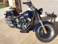 2012 Harley Davidson FLSTB Fatboy Lo Cruiser. Twin Cam-