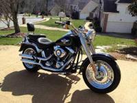 2012 Harley Davidson FLSTF Softail Fat Boy. This