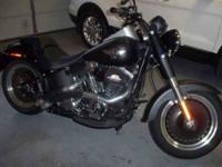 2012 Harley Davidson FLSTFB Softail Fat Boy Lo Cruiser
