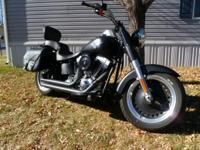 2012 Harley Davidson FLSTFB Softail Fat Boy Lo. hey