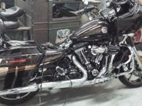 2012 Harley Davidson FLTRXSE CVO Screamin Eagle. A true