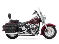 You can remove the Harley Heritage Softail windshield