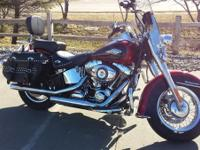 New for 2012 the Harley Heritage Softail Classic