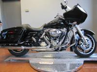 The 2012 Harley-Davidson Road Glide Custom FLTRX is an