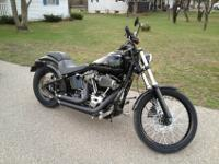 2012 Harley Davidson softail Blackline 103ci. I am the