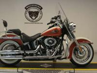 The 2012 Harley-Davidson Softail Deluxe FLSTN is a