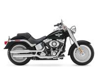 New for 2012 the Harley Fat Boy features a new larger