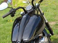 2012 Harley-Davidson Softail FXS, Blackline, 103 CI,