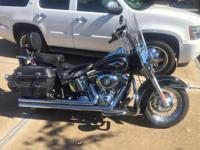 2012 Harley Davidson Heritage Softail with only 9562
