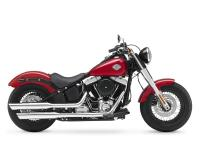 Motorcycles Softail 7479 PSN . Its chopped rear fender