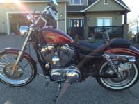 """2012 Harley Davidson Sportster Model """"72"""" . Hard Candy"""