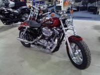 2012 Harley-Davidson Sportster 1200 Custom Nearly New!