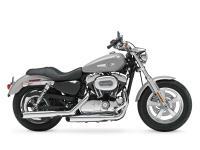 2012 Harley-Davidson Sportster 1200 Custom Low miles.