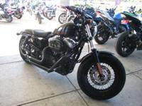 The Harley Sportster Forty-Eight look is boosted with