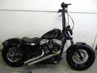 2012 Harley-Davidson Sportster Forty-Eight BLACK ONLY