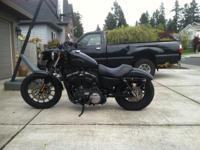 Fresh 2012 Harley Davidson Sportster Iron 883, all