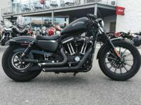 The 2012 Harley-Davidson Sportster Iron 833 XL883N is
