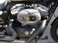 2012 Harley-Davidson Sportster XL1200 Motorcycle is in