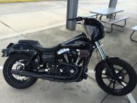2012 Harley Davidson Street Bob Low Low Miles just has