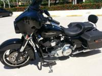 UP FOR SALES IS MY 2012 HARLEY DAVIDSON STREET GLIDE