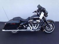 2012 Harley-Davidson Street Glide prepared to ride! the