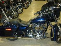 New for 2012 the Harley Street Glide FLHX features a