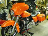2012 Harley Davidson Street Glide, 103 motor, 6 speed