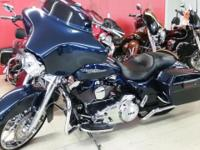 The Street Glide is a bagger with street-wise soul,