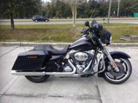 I currently have a 2012 HD Street Glide for sale. This