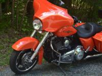 2012 Harley Street Glide FLHX in the rare two-tone
