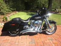 2012 Harley Davidson Street Glide FLHX, chrome front