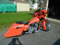 Up for grabs is a 2012 FLHXI Street Glide Custom