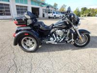 2012 Harley Davidson Tri-Glide Exterior Paint is Black