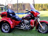 2012 Harley Davidson Tri-Glide UltraNever Ridden in the