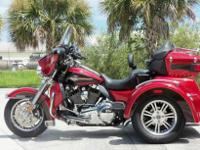 The 2012 Tri Glide Ultra Classic bike brings