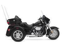 When exploring on trike motorcycles, the Harley Tri