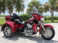 The 2012 Tri Glide Ultra Classic motorcycle brings