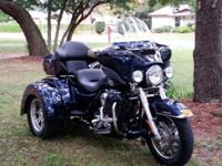 2012 Harley Davidson FLHTCUTG Tri Glide Ultra Classic.