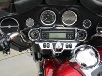 2012 Harley ultra classic, 9202 miles, 52 miles on new