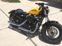 2012 Harley Davidson XL1200X Springer Forty-Eight. 205