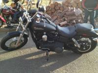 2012 Harley streetbob bought new in March this year. I