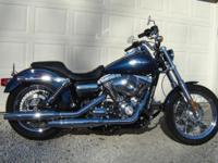A fresh 2012 Harley davidson Davidson Super Glide