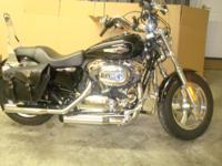 Retiring want to sell Black Sportster Custom, less