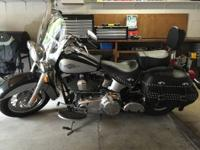 Like new, garage kept 2012 Harley Davidson Heritage.