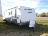 for sale is a 2012 hideout 31ft bunkhouse has 2 slides