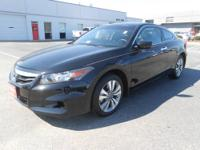 This is a great 2012 Accord coupe EX-L. So nice you'll