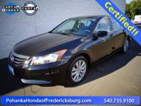 2012 Honda Accord EX-L 2.4 ***** Honda Certified,
